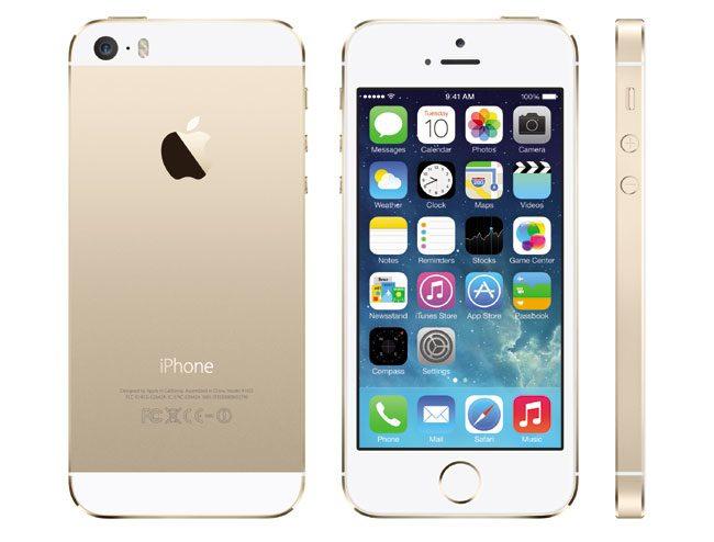 Varianta de culoare auriu-mat pentru iPhone 5S va atrage probabil destui clienti in Romania
