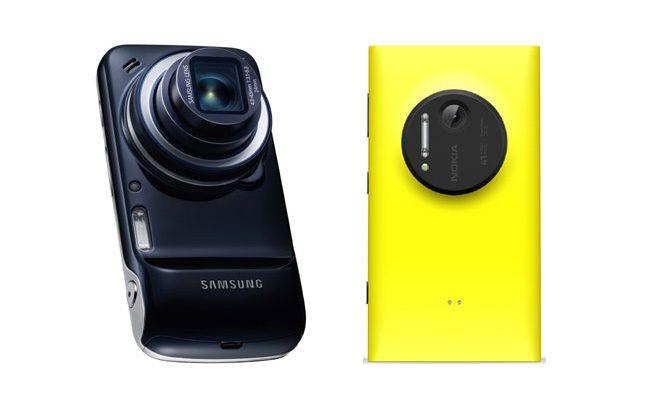 Nokia Lumia 1020 si Samsung Galaxy Zoom, rivalii lui Z1