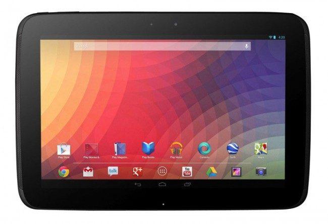Nexus 10 este principalul rival pentru iPad Air