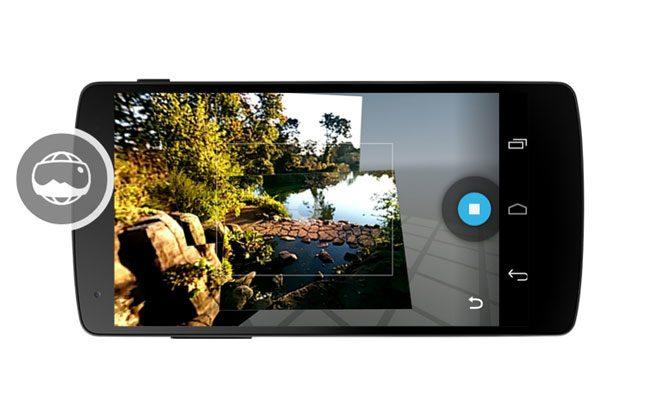 Camera foto de pe Nexus 5 a primit o noua interfata
