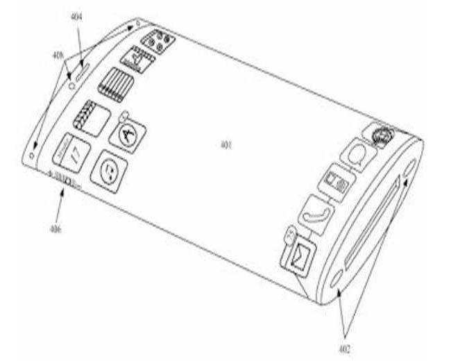 Apple a inregistrat un patent pentru dezvoltarea unui ecran curbat