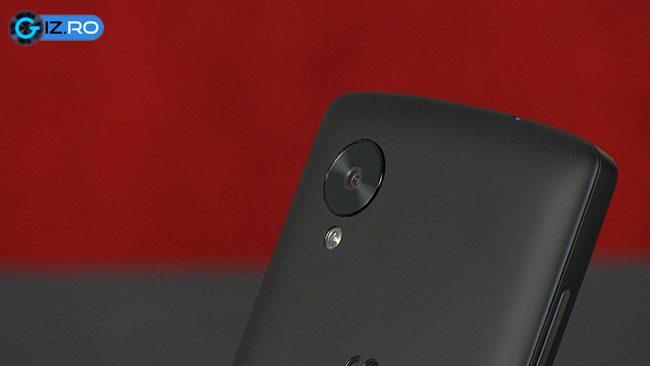 Camera de 8 megapixeli pentru Nexus 5