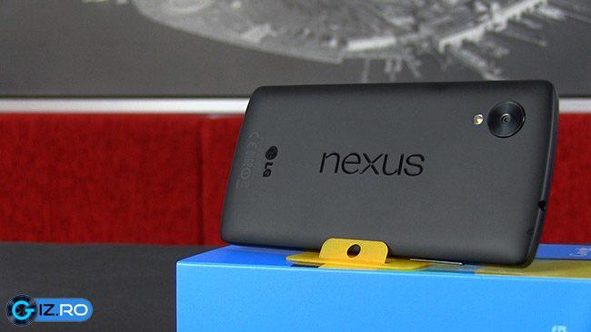 Spate din plastic cauciucat pentru Google Nexus 5