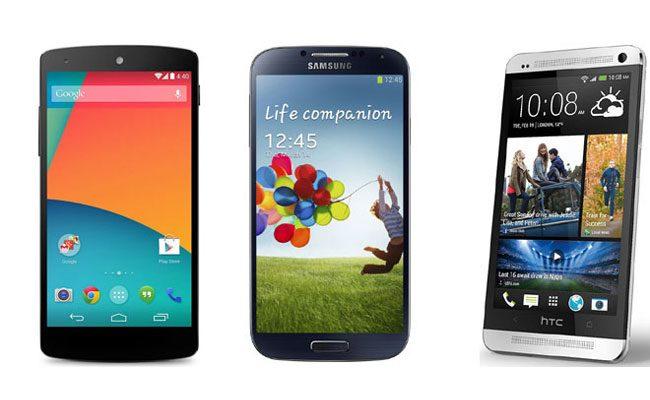 Nexus 5, Samsung Galaxy S4 si HTC One se numara printre cele mai bune smartphone-uri