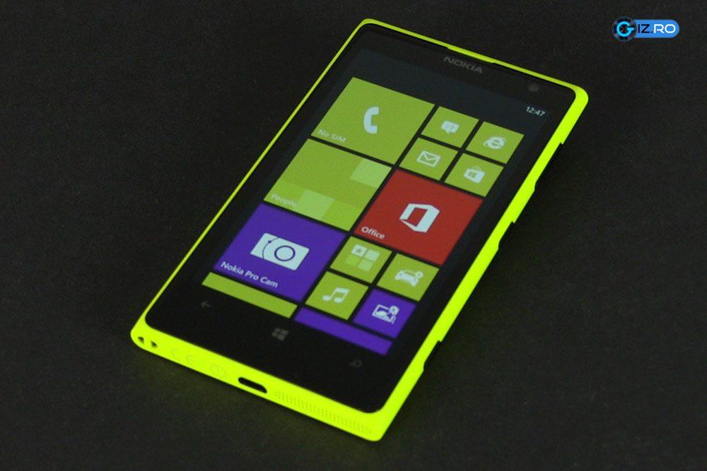 Nokia Lumia 1020 este varful de gama pentru smartphone-urile finlandezilor