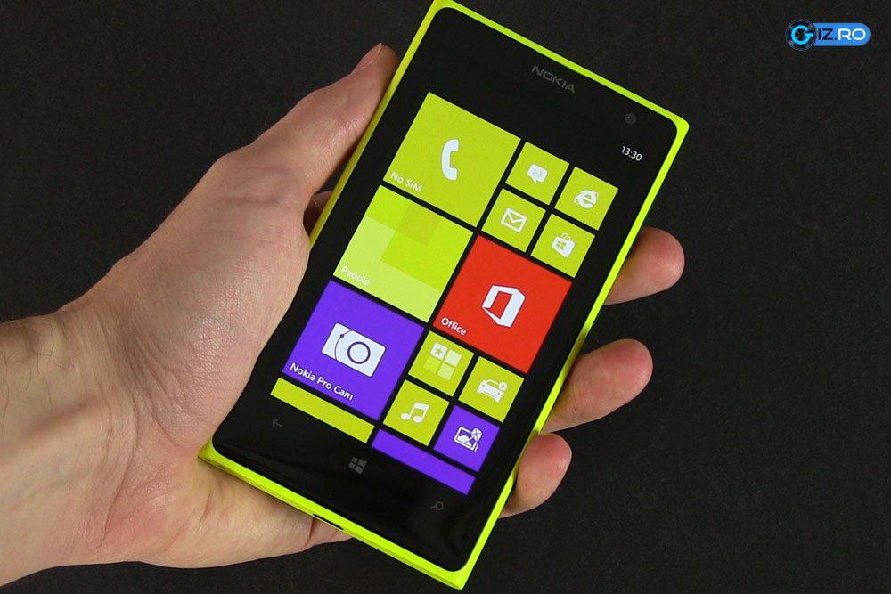Windows Phone are un homescreen bogat in live tiles