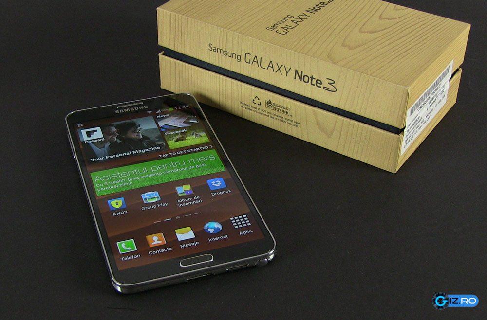 Note 3, unul dintre cele mai bunesmartphone-uri de pe piata