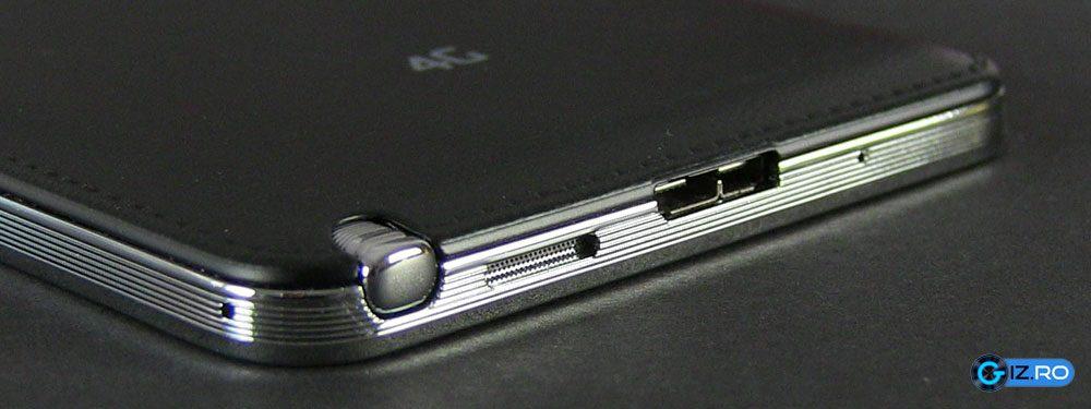 Stylusul este integrat elegant in Note 3