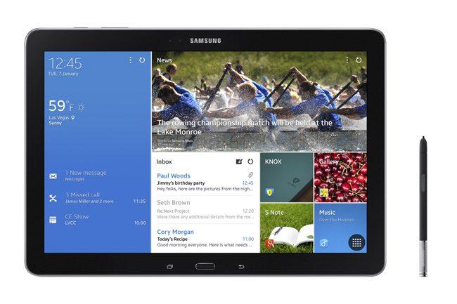 Samsung Galaxy Note Pro, o tableta utila pentru utilizatorii business care au nevoie de stylus