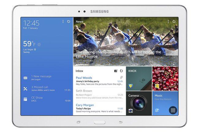 Samsung Galaxy Tab Pro 10.1, tableta cu aplicatii business