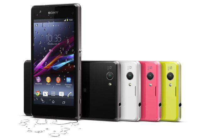Sony Xperia Z1 Compact pastreaza designul lui Z1