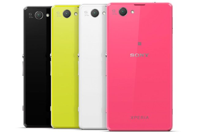Sony Xperia Z1 Compact este disponibil in patru culori