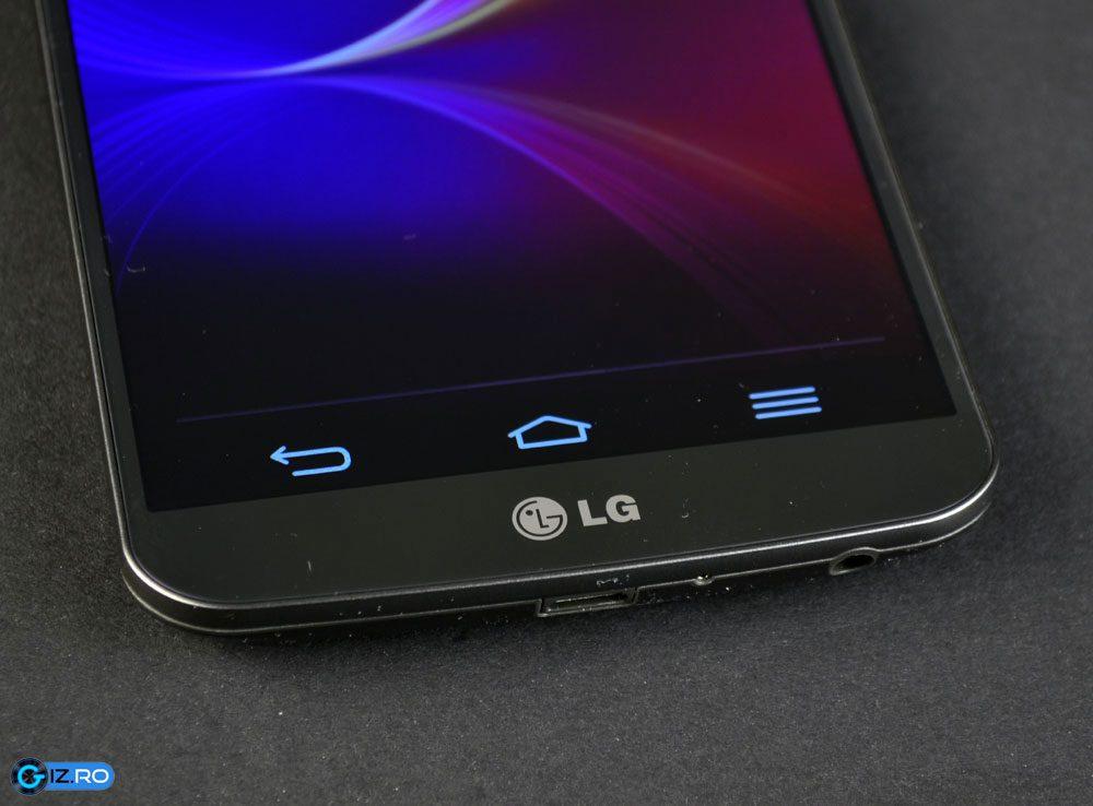 Asezarea default a tastelor virtuale de pe LG G Flex