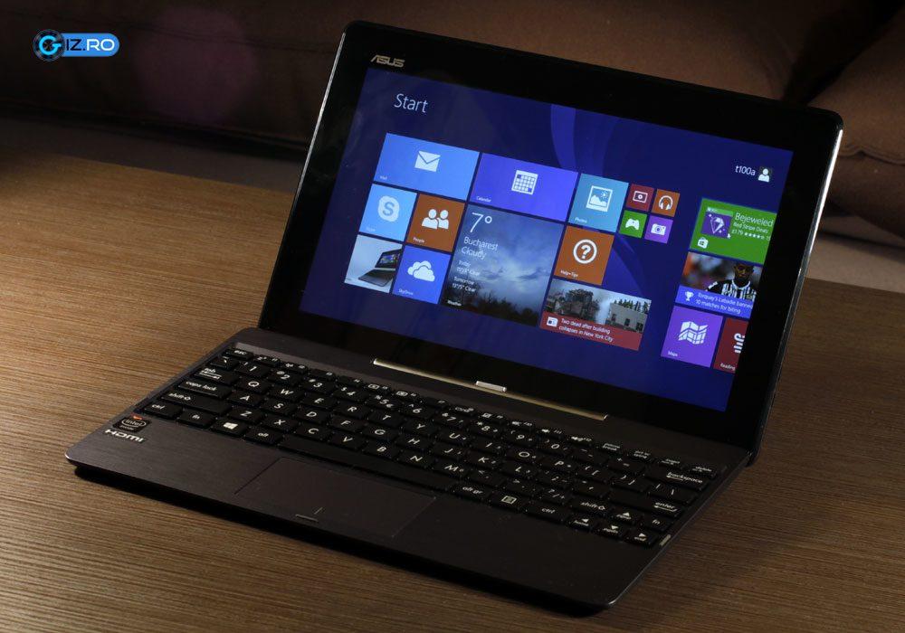 Asus Transformer Book T100TA, un convertibil laptop-tableta