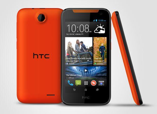 Pe langa negru si alb, HTC Desire 310 este disponibil si in varianta rosie