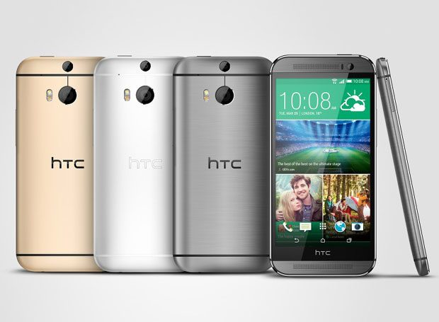 HTC One 2014 este disponibil intr-o varietate de culori