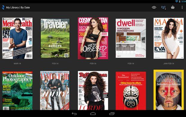 Zinio te pune in contact cu revistele lumii