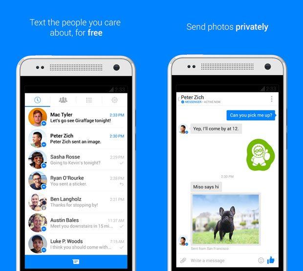 Utilizarea Facebook Messenger este din ce in ce mai frecventa