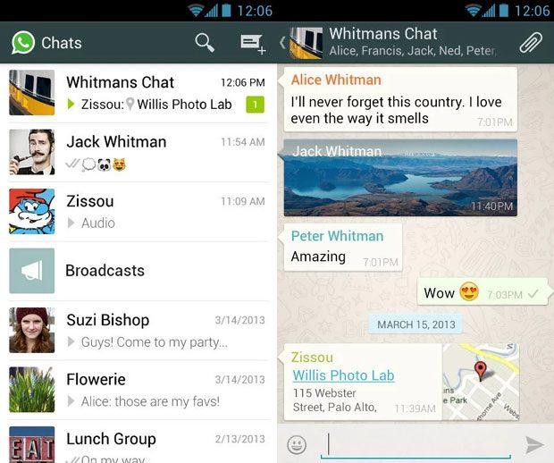 WhatsApp este cea mai populara aplicatie de chat pentru mobile