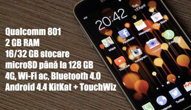Galaxy S5 - un telefon cu dotări de top