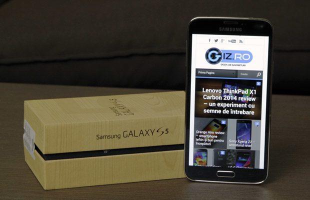 Trăgând linie, Galaxy-ul S5 este un telefon bun, spre foarte bun