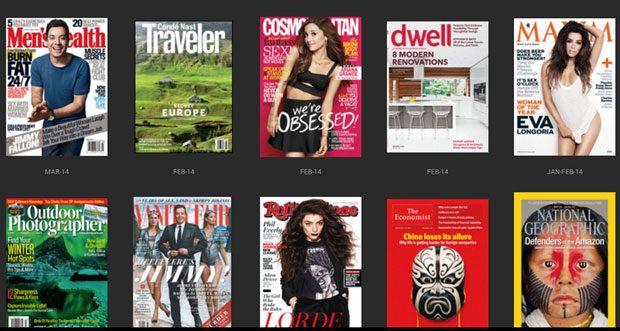 Zinio, probabil cea mai buna platforma de reviste digitale