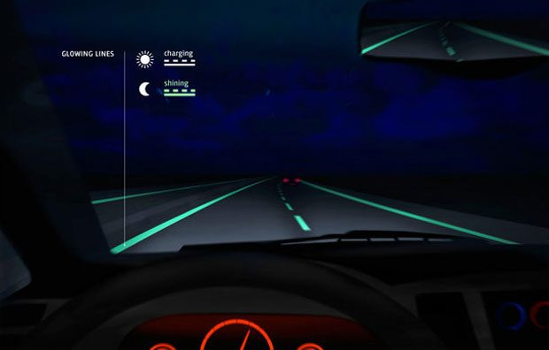 Glow in the Dark sau cum vor arata marcajele pe autostrada in viitor