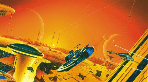 Peisaj din lumea imaginata de Isaac Asimov