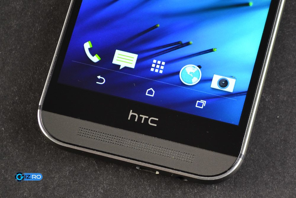 Tastele capacitive ale lui HTC One M8 au fost inglobate in ecran