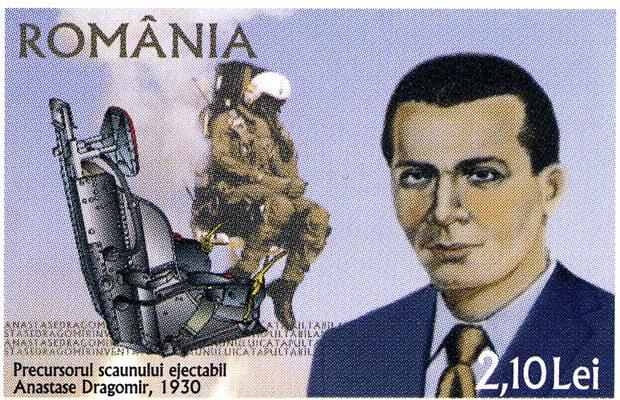 Inventia lui Anastase Dragomir a ajuns pe timbrele postale