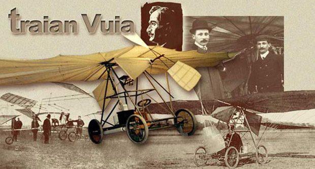 Traian Vuia a inventat primul avion