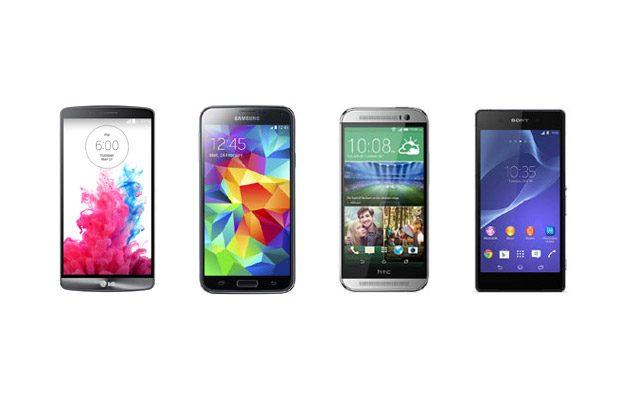 Toate cele patru smartphone-uri au preturi pe masura