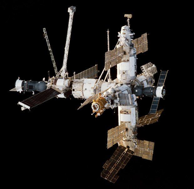 Mir, cea mai avansata statie spatiala pana la aparitia ISS