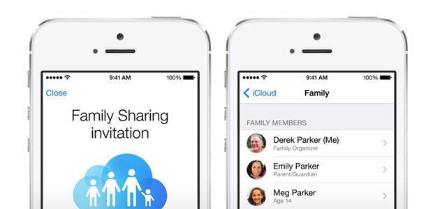 Aplicatiile cumparate pot fi impartite cu familia