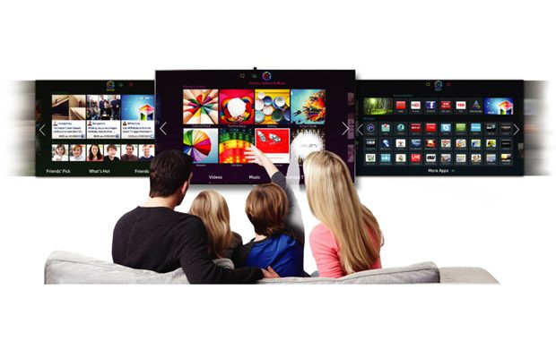 Un Smart TV iti ofer acces la o serie de aplicatii si servicii online