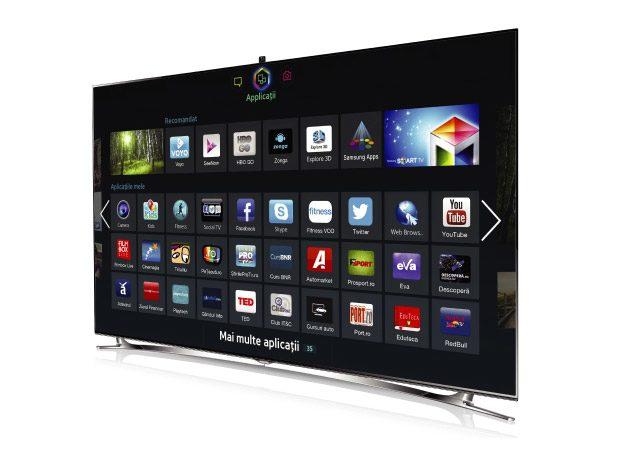 Smart TV-urile Samsung, cele mai bogate in aplicatii