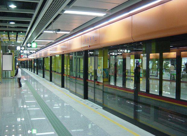 Tunelul lniei de metrou din Guangzhou, cel mai lung din lume