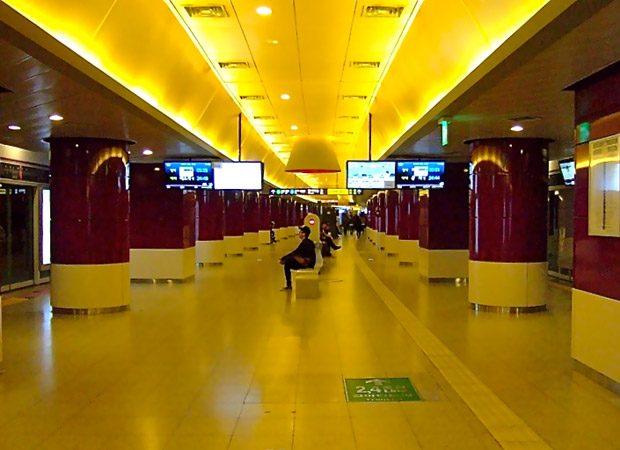 Statie de metrou din Seul, Coreea de Sud