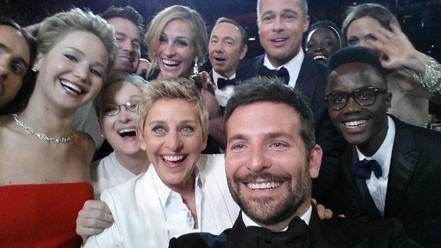 Selfie-ul de la decernarea Oscarurilor, probabil cel mai celebru din lume