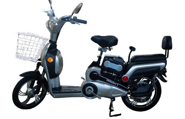 Unele biciclete electrice seamana cu scooterele