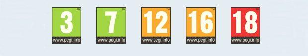 Ratingurile PEGI acordate pentru jocuri