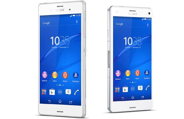 Sony Xperia Z3 si Z3 Compact, telefoane aproape identice