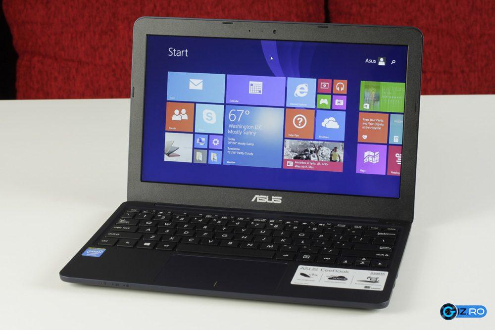 Asus X205TA, un laptop compact si ieftin