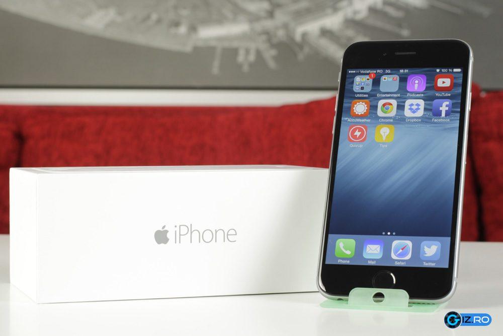 iPhone 6 nu este scutit de unele mici defecte