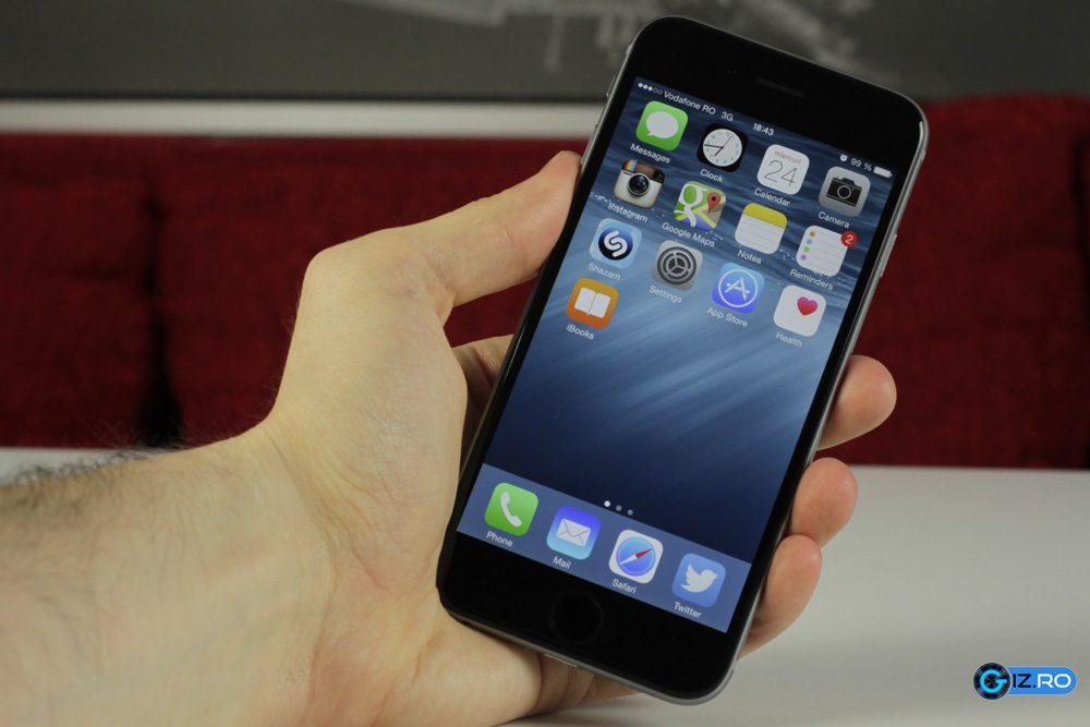 Autonomia lui iPhone 6 ajunge la o zi obisnuita de lucru