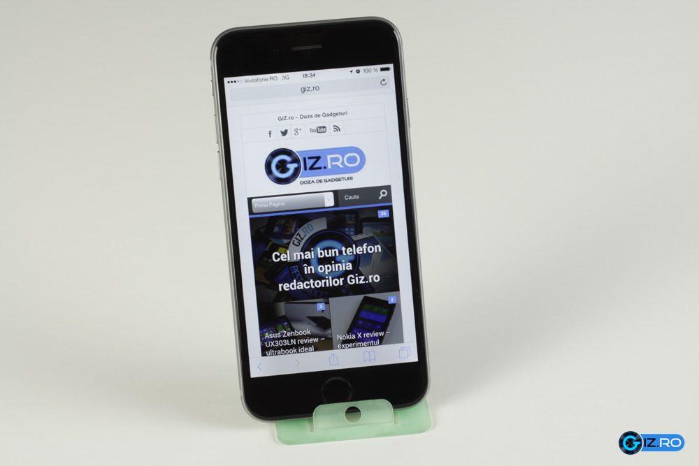 Navigarea pe internet este o placere cu iPhone 6