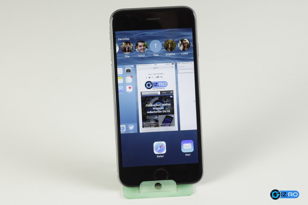 Multitaskingul a fost usor imbunatatit pe iOS 8