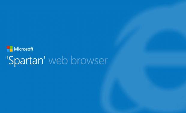 Spartan va inlocui Internet Explorer