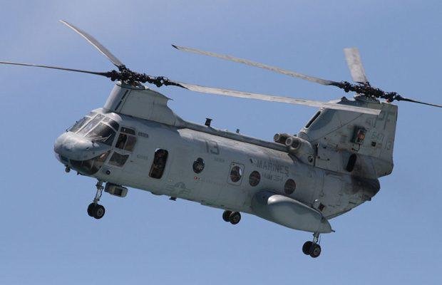 Vertol CH-46 Sea Knight, un elicopter civil de mari dimensiuni