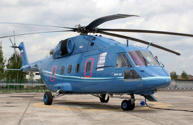 Mil Mi-38, unul dintre numeroasele elicopetere militare sovietice